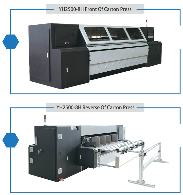 Small order used Automatic digital corrugated box printing machine